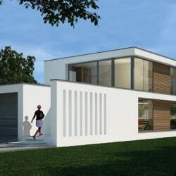 Modern Design Steel Frame Home