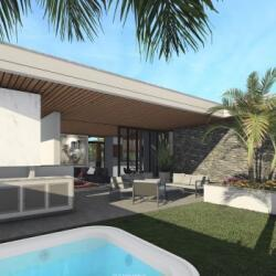 Steel Frame House Design With 2 Bedrooms